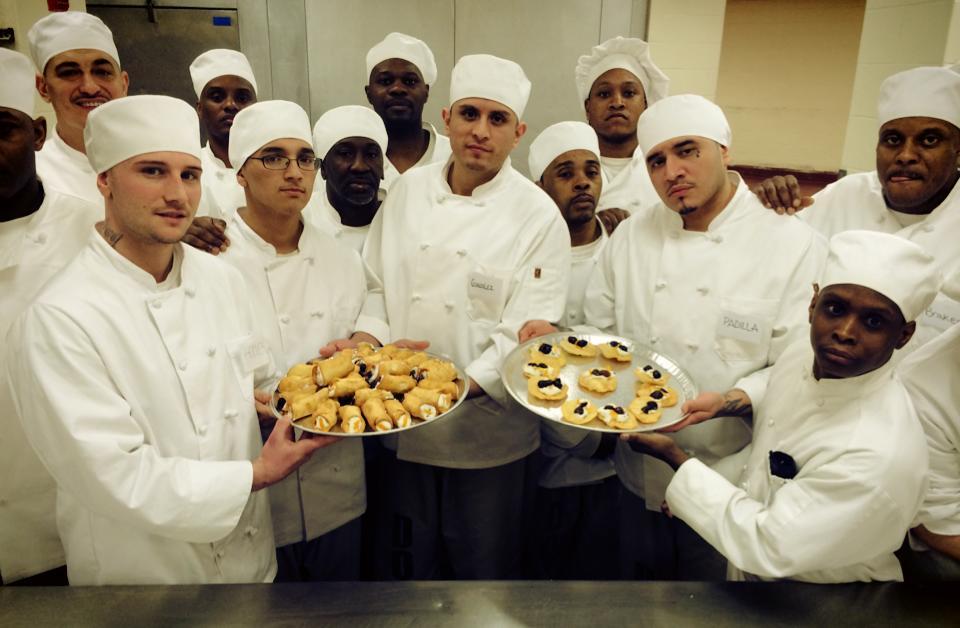 I detenuti del carcere di Chicago al corso di cucina italiana