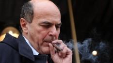 Bersani e il suo sigaro