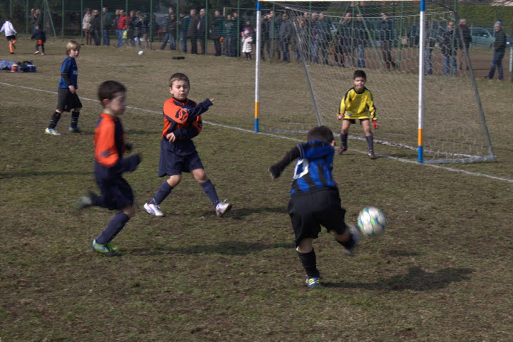 bambini in campo