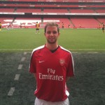 Matteo Parma all'Emirates