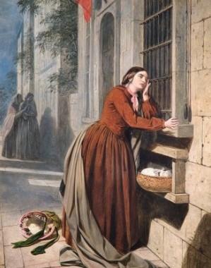 Una delle opere della mostra Fallen Woman al Foundling Museum di Londra