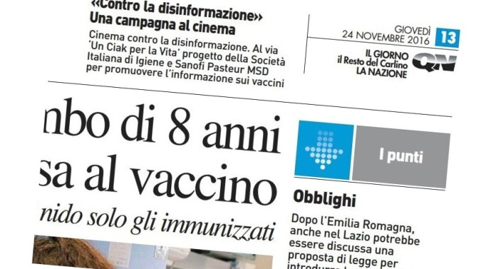 Informazione sui vaccini