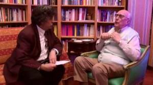 Andrea Camilleri e Marco Marchi, maggio 201