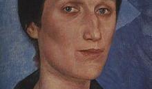 Anna Achmatova, ritratto di Kuzma Petrov-Vodkin,1922