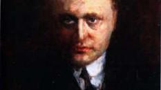 Federigo Tozzi in un ritratto di Giorgio Pastina