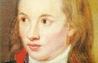 Novalis in un ritratto di Franz Gareis, 1799