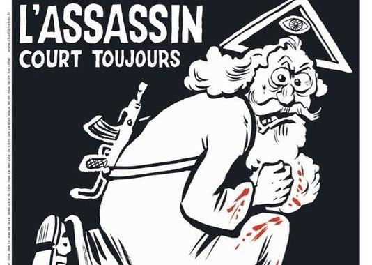 La copertina di Charlie Hebdo