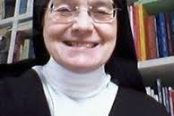 La priora Madre Cristiana Dobner