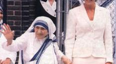 Madre Teresa di Calcutta e Lady Diana