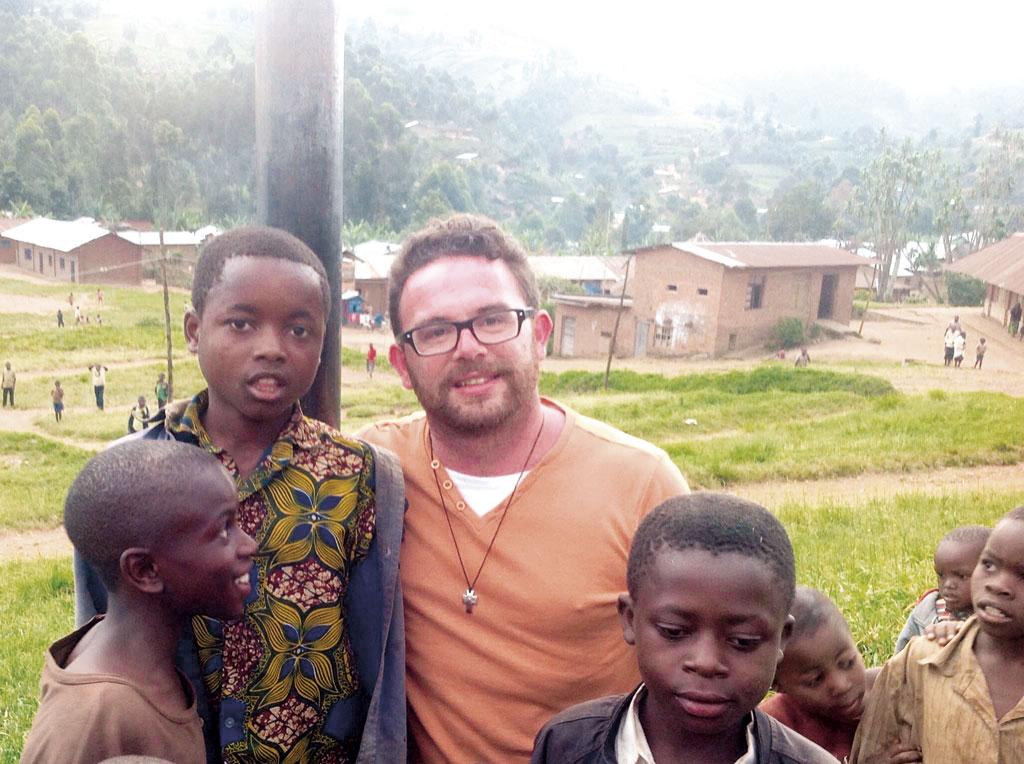 Don Adriano Cifelli in Kivu, Repubblica democratica del Congo