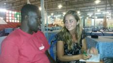 Coulibaly Drissa, 28 anni, dalla Costa D'Avorio