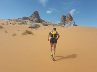 Marco Olmo nel Sahara