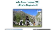 Convegno Energia e Territorio, Valle Orco Locana, Torino, 28-30 giugno 2018